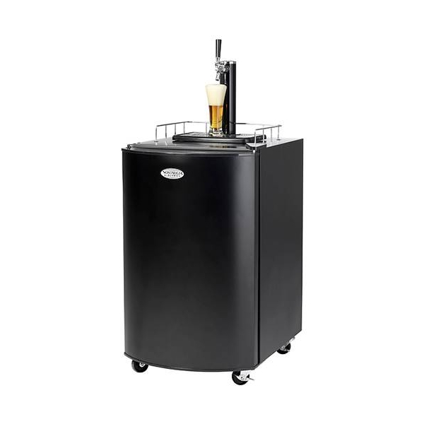 Electrics Kegerator Beer Fridge - Black